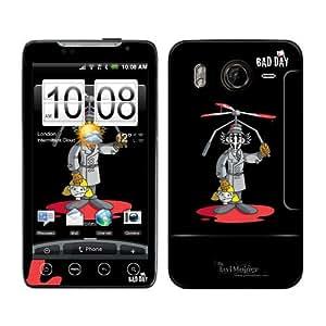 B 0045-0066-0017 Diabloskinz retro Skin para HTC Desire HD