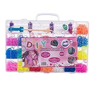 Amazon.com: RealMy Rainbow Loom Bands Kit - Loom Bands ... Rainbow Loom Kit Amazon