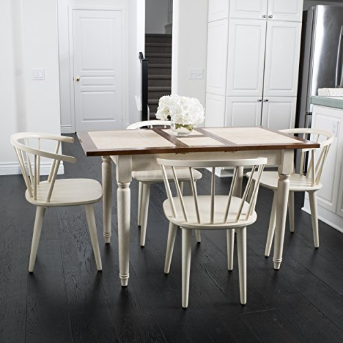 Danielle 5 Piece Contemporary Dining Set