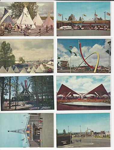 Postcard Lot of 8, Oregon B, Centennial 1959, Exposition, JFZ