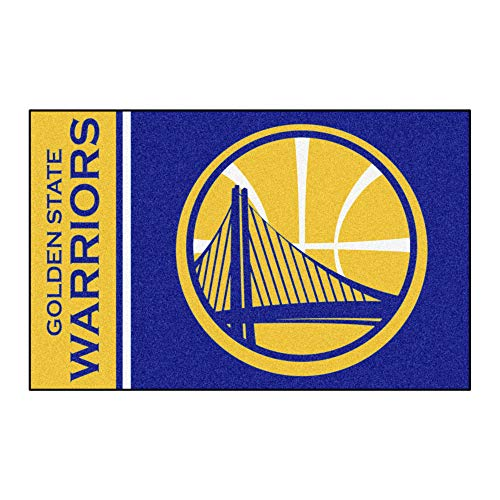 Large Team Rug - FANMATS 17911 NBA Golden State Warriors Uniform Inspired Starter Rug,Team Color