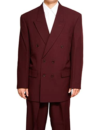 New Double Breasted (DB) Burgundy / Maroon Men's Business Dress ...