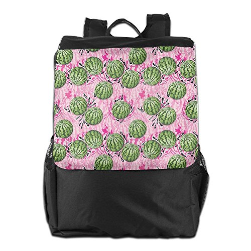 Storage Adjustable Backpack Travel Outdoors Shoulder Women Sweet Men Camping HSVCUY Dayback Personalized And Strap For Watermelons School 8SgRP