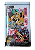 Transformers Sterile Adhesive Bandages with Tattoos