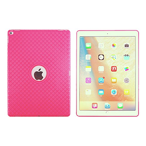 BoriYuan iPad 4&3&2 360 Degree Rotating Stand PU Leather Case Protective Flip Folio Detachable Soft Rubber Cover For Apple iPad 4/ iPad 3/ iPad 2 with Card Slot+Screen Protector+Stylus (Rose Red) Photo #4