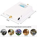 Cell Phone Signal Booster Verizon 4G LTE Cell Booster HJCINTL High Gain Band13 700MHz Home Mobile Phone Signal Repeater Amplifier Kit