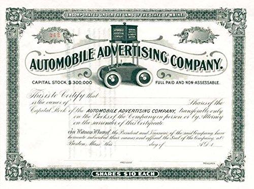 Automobile Advertising Company