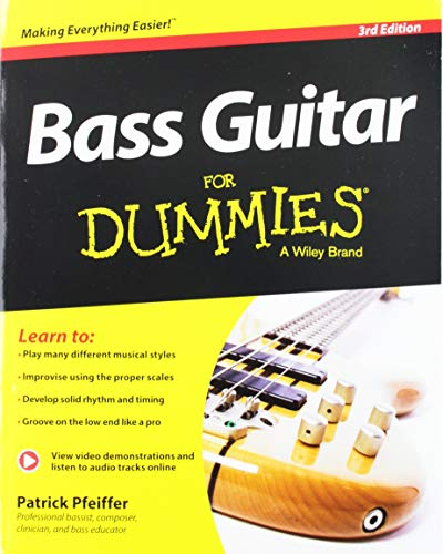 Bass Guitar For Dummies, Book + Online Video & Audio Instruction (For Dummies Series)
