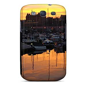 New Arrival Sunset Over Harbour DWnqpzy5373jmzfh Case Cover/ S3 Galaxy Case