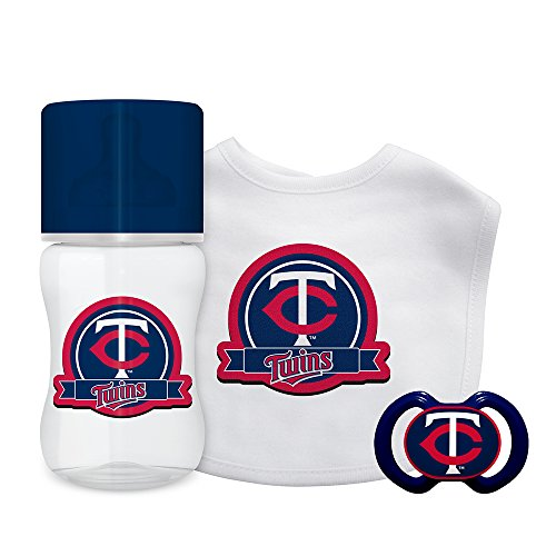 Baby Fanatic 3-Piece Gift Set, Minnesota Twins ()