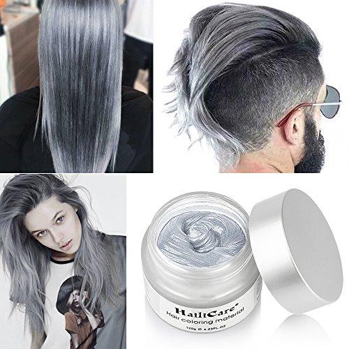 HailiCare Silver Grey Hair Wax 4.23 oz, Professional Hair Pomades ...