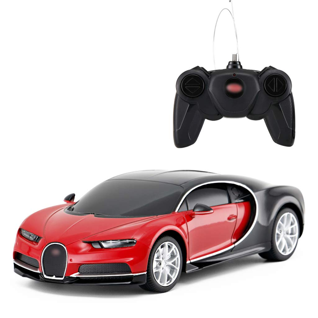 Auto Spielzeug-Auto-Jungen-Sport-Auto-Modell der Fernsteuerungsauto-Plastikkinder (Farbe : ROT)