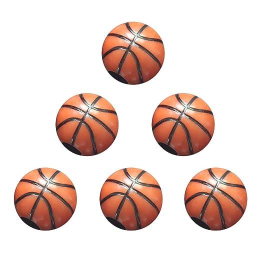 60 Unids Bolas de Bola de Plástico 12 MM DIY Baloncesto En Forma ...