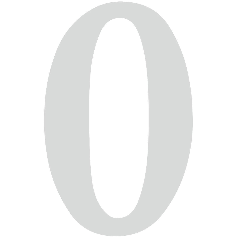 Ziffer zum Aufkleben f/ür Au/ßen Briefkasten Zahlen-Aufkleber Nr T/ür I wetterfest I kfz/_479/_1 1 in silber I H/öhe 10 cm I selbstklebende Haus-Nummer