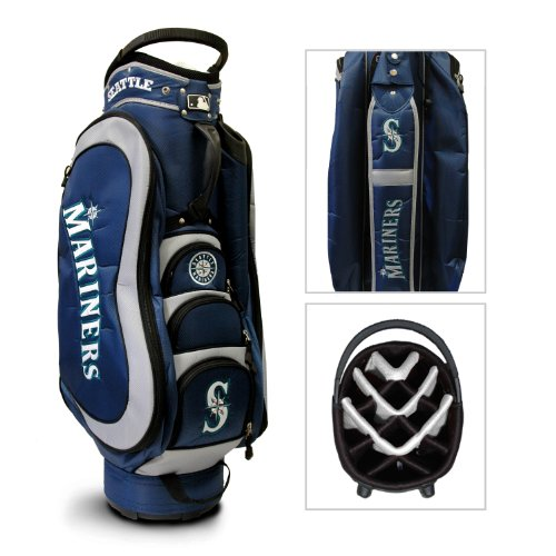 MLB Seattle Mariners Medalist Golf Cart (Seattle Mariners Bag)