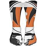 Constan Miwxy Cushion Comfort Sport Socks Grateful-Dead Cincinnati-Bengals Logo Men's Athletic Casual Crew Socks