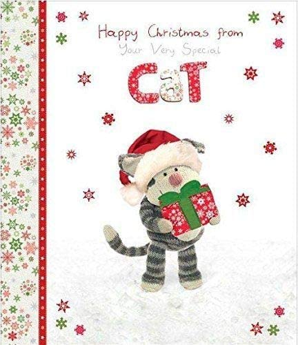 Boofle Happy Christmas From The Cat Greeting Card Special Xmas Cards