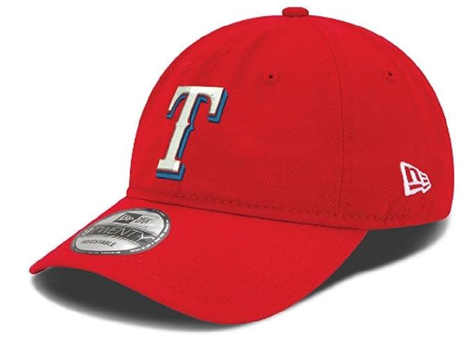the best attitude 0fe33 4e3e7 New Era Texas Rangers MLB On Field Replica 9TWENTY Dad Cap