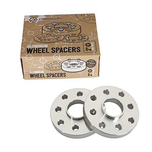 2pc 15mm Thick 4x100 & 4x108 Hubcentric Wheel Spacers (57.1mm bore) for E30 3-Series 318i 318is 325i 325e 325is, Audi 4000 Coupe Quattro, VW Golf Cabrio Corrado Jetta ()