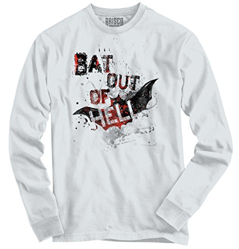Funny Halloween Long Sleeve T Shirt Bat Out Of Hell Scary Costume (Zombie Dress Up Ideas)