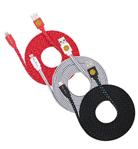 Braided Noodle Lightning Cables iPhone