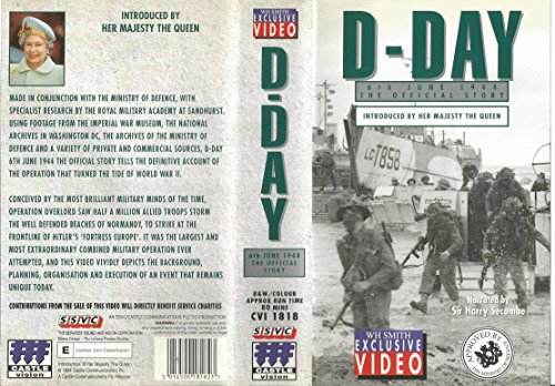 D-Day, 6th June 1944: The Official Story [VHS]