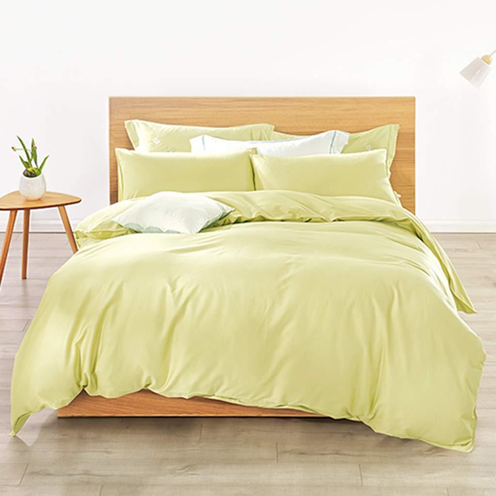 寝具セットピローケース付き* 4点セット* 2寝具コレクション快適な静電気防止のためのベストセラー人気のあるカラーは裸の睡眠に適しています(シングル、ダブル),220 * 240Cm 220*240cm  B07HH58TPQ