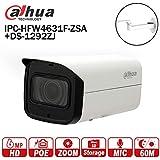Dahua 6MP Bullet Camera IPC-HFW4631F-ZSA 2.7-13.5mm Outdoor IR 60m Micro SD Card Slot Built-in Mic IP67 IK10