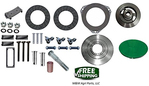 Complete Clutch kit John Deere 620 630 Tractor - Clutch Drive Disc Rebuild kit from Unknown