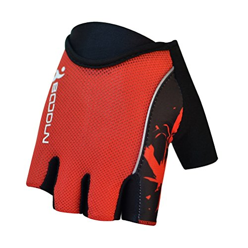 Mens Biking Riding Gloves Ultra Light Breathable Lycra Anti-Slip Shock Absorbing Silica Gel Grip Mountain Road Gloves Cycling Accessories