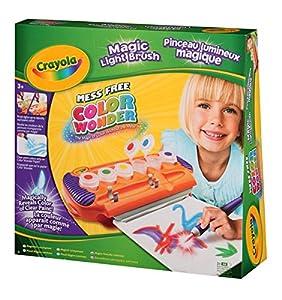 Amazon Com Crayola Color Wonder Magic Light Brush Toys