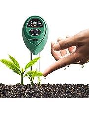 جهاز قياس رطوبة التربة 3 في 1 من ماكسي، لقياس درجة الضوء/ درجة حموضة التربة والرطوبة،اختبار دقيق للزراعات والخضروات والحشائش، يستخدم في الاماكن المغلقة والمفتوحة، لا يتطلب بطاريات