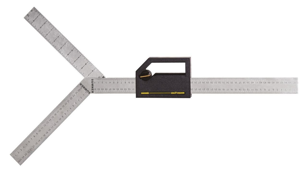 Sumner Manufacturing 790030 Mul-T-Square with Extended Blades