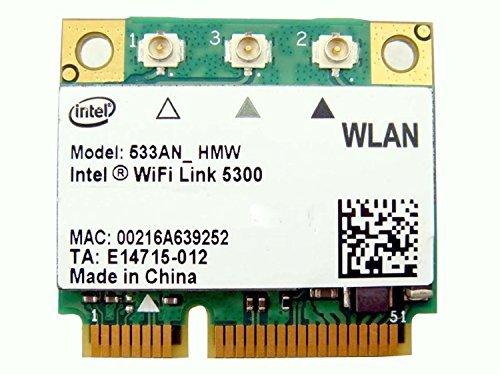 Intel 5300 533an_hmw Half Mini Pcie Pci-express Wireless Wla
