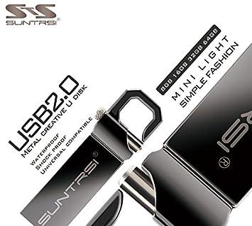 Amazon.com: Superb good Suntrsi USB Flash Drive 64GB Metal ...