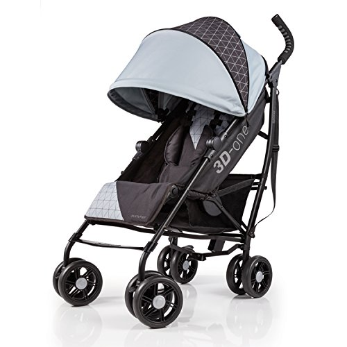 Summer Infant 3D-One Convenience Stroller, Flint Grey