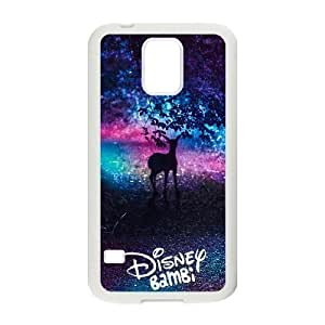 Generic for Samsung Galaxy S5 Cell Phone Case White Bambi Custom HLFDKFFKD2999