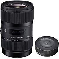 Sigma AF 18-35MM F/1.8 DC HSM Lens for Sony with USB Dock for Sony Lens