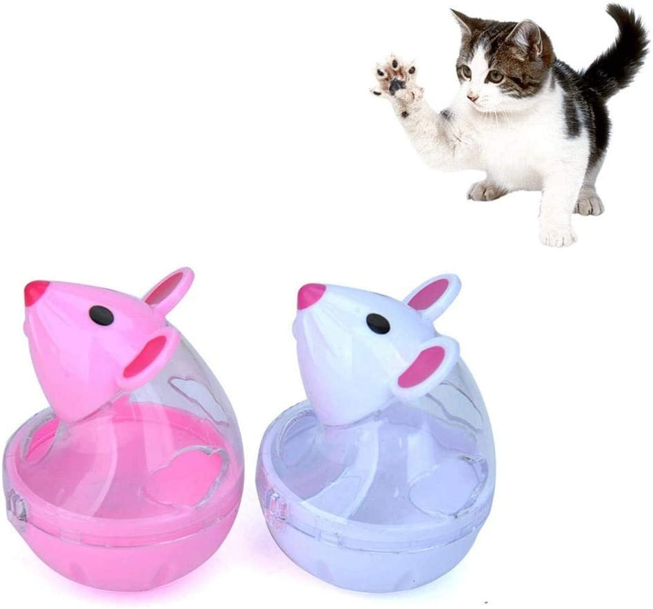 Zhuotop Dispensador de golosinas para Gatos, Juguete con Forma de ...