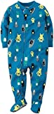 Carter's Little Boys' Print Footie (Toddler) - Monsters - 4T