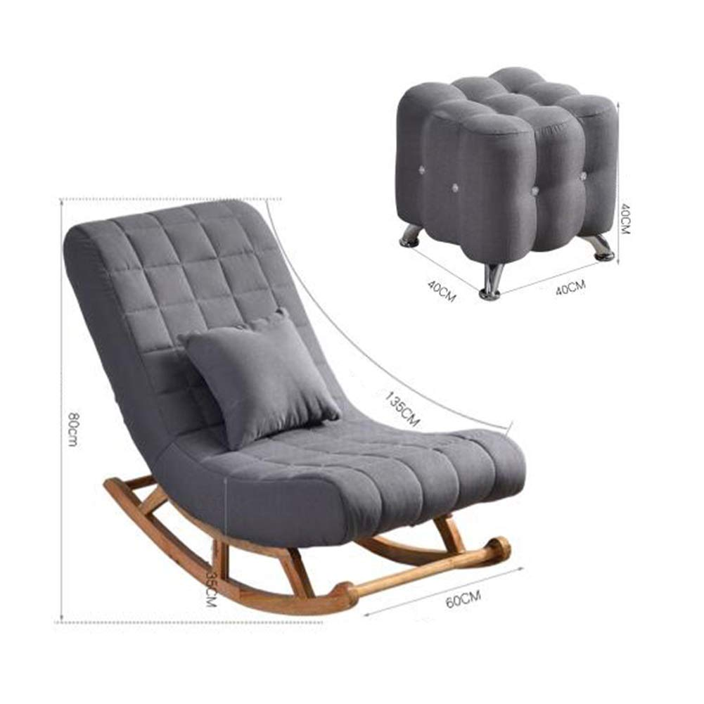 Amazon.com: YQQ-Lazy Sofa Comfortable Relax Rocking Chair ...