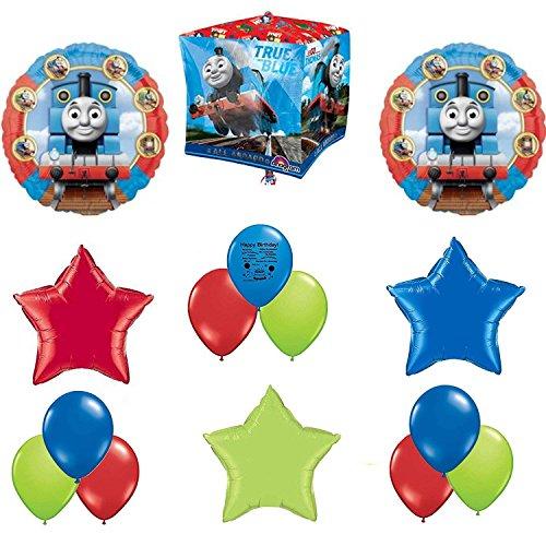 Birthday Tank The Thomas Invitations (Guaranteeing100percentnow™ Thomas The Tank Party Supplies Birthday Balloon Cubez Forever Balloon Decorating Kit)