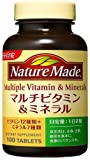 大塚製薬(オオツカセイヤク) ネイチャーメイド マルチビタミン&ミネラル(100粒入り)