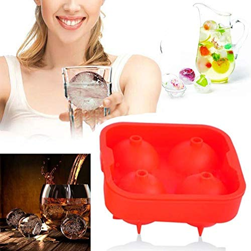 Whiskey Silicon Ice Cube Ball Make Mold Sphere Mould Brick Party Best Tray Round -