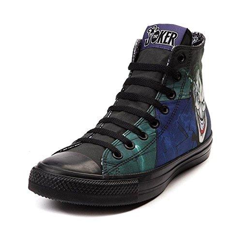 60f838e6d597 Converse DC Comics The Joker Chuck Taylor Black Sneakers (7 - Import It All