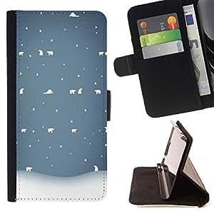 Momo Phone Case / Flip Funda de Cuero Case Cover - Inverno - Samsung Galaxy S5 V SM-G900