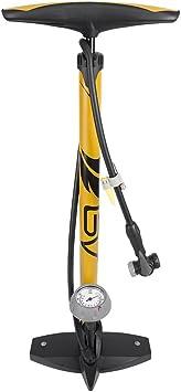 BV Bicycle Ergonomic Bike Floor Pump with Gauge