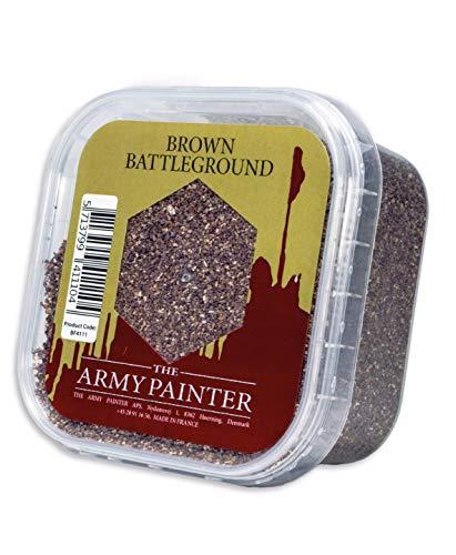 - The Army Painter Battlefield Essential Series: Brown Battleground Miniature Basing Sand, 150 ml