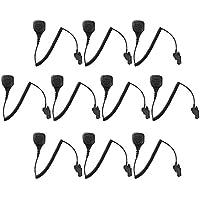 10 Pack Maxtop APM250-M7 IP56 Waterproof Shoulder Speaker Microphone for Motorola HT-1000 MT2000 MTS2000 XTS2500