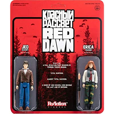 Super7 Red Dawn Reaction 2-Pack - Pack A (Erica and Jed): Toys & Games